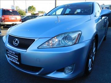 2008 Lexus IS 250 for sale at Pristine Auto Sales in Sacramento CA