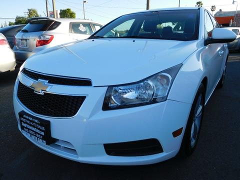 2012 Chevrolet Cruze for sale at Pristine Auto Sales in Sacramento CA