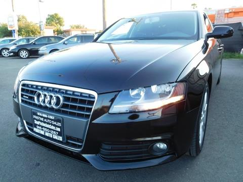 2011 Audi A4 for sale at Pristine Auto Sales in Sacramento CA