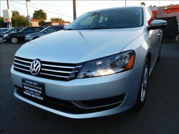 2013 Volkswagen Passat for sale at Pristine Auto Sales in Sacramento CA