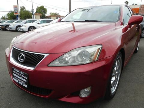2007 Lexus IS 250 for sale in Sacramento, CA