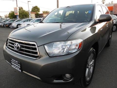 2008 Toyota Highlander for sale at Pristine Auto Sales in Sacramento CA