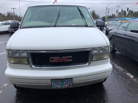 2003 GMC Safari for sale in Gladstone, OR