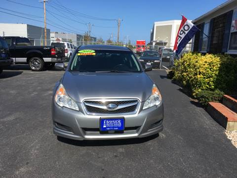 2011 Subaru Legacy for sale at Bayside Auto Sales Inc. in Hyannis MA