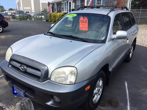 2006 Hyundai Santa Fe for sale at Bayside Auto Sales Inc. in Hyannis MA