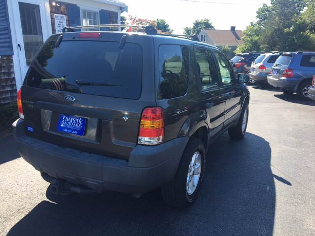 2007 Ford Escape for sale at Bayside Auto Sales Inc. in Hyannis MA