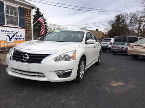 2013 Nissan Altima for sale in Hyannis, MA