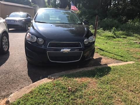 2012 Chevrolet Sonic for sale in Ridgeway, VA