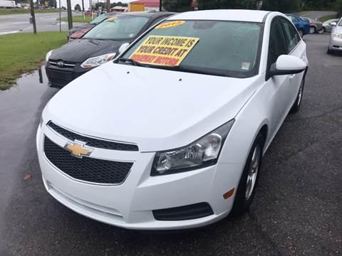 2013 Chevrolet Cruze for sale in Ridgeway, VA