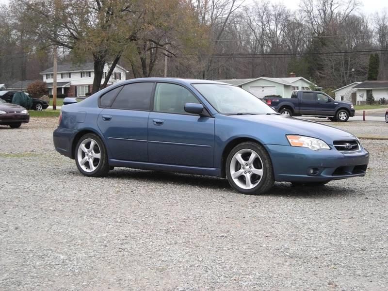 2006 Subaru Legacy Awd 25i Special Edition 4dr Sedan 25l H4 4a