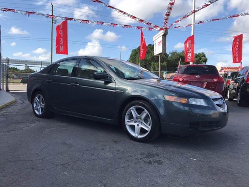 Acura Tl Dr Sedan WNavi In Miami FL GAPS Auto Sales - 2005 acura tl navigation update