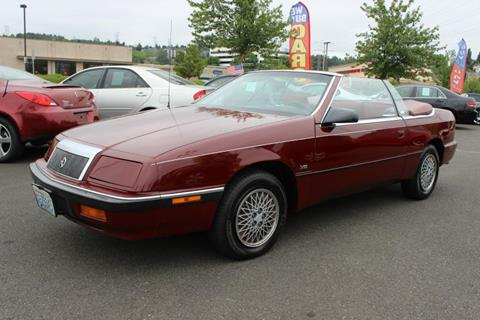 Chrysler le baron for sale in washington carsforsale 1991 chrysler le baron for sale in seattle wa sciox Image collections