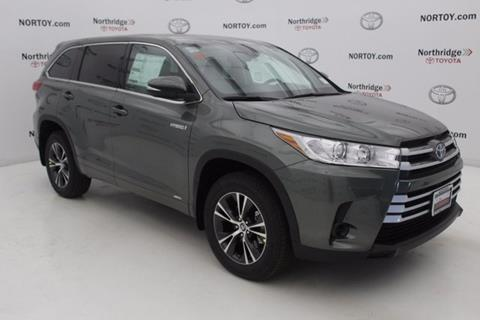 2017 Toyota Highlander Hybrid for sale in Northridge, CA