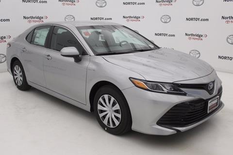 2018 Toyota Camry Hybrid for sale in Northridge, CA