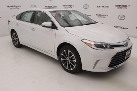 2018 Toyota Avalon Hybrid for sale in Northridge, CA
