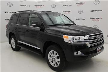 2017 Toyota Land Cruiser for sale in Northridge, CA