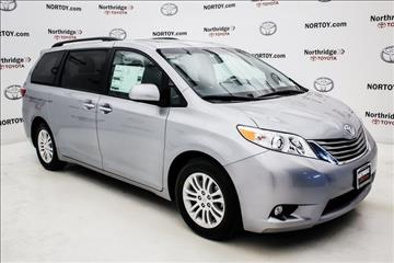 2017 Toyota Sienna for sale in Northridge, CA