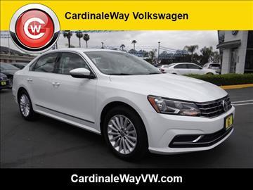 2017 Volkswagen Passat for sale in Corona, CA