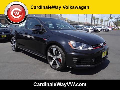 2017 Volkswagen Golf GTI for sale in Corona, CA