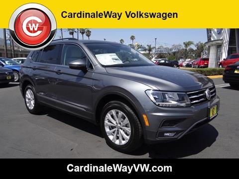 2018 Volkswagen Tiguan for sale in Corona, CA