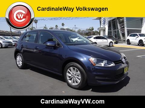 2017 Volkswagen Golf for sale in Corona, CA
