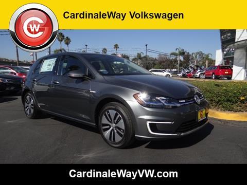 2017 Volkswagen e-Golf for sale in Corona, CA