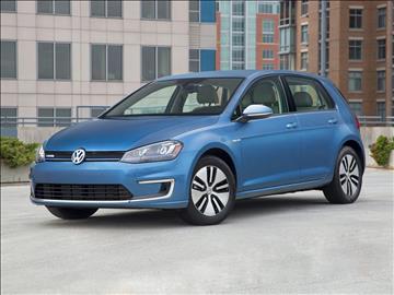 2016 Volkswagen e-Golf for sale in Corona, CA