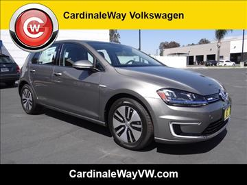 2016 Volkswagen e-Golf for sale in Corona, CA