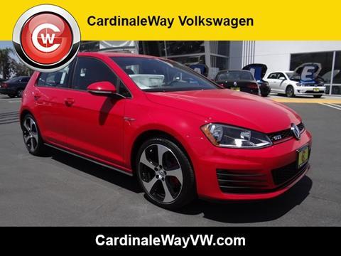 2017 Volkswagen GTI for sale in Corona, CA