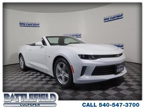 2017 Chevrolet Camaro for sale in Culpeper, VA