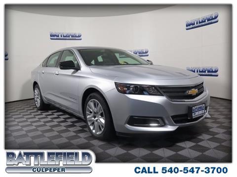 2017 Chevrolet Impala for sale in Culpeper, VA