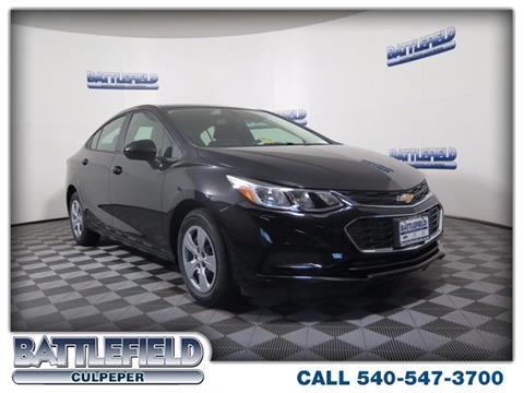 2017 Chevrolet Cruze for sale in Culpeper, VA