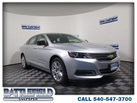 2018 Chevrolet Impala for sale in Culpeper, VA