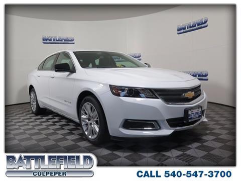 2018 Chevrolet Impala for sale in Culpeper VA