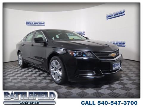 2018 Chevrolet Impala for sale in Culpeper, VA