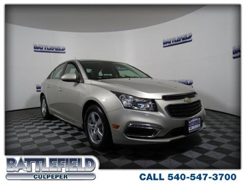 2016 Chevrolet Cruze Limited for sale in Culpeper, VA