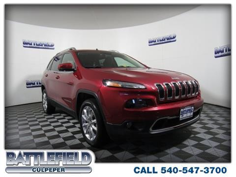 2015 Jeep Cherokee for sale in Culpeper VA