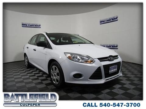 2013 Ford Focus for sale in Culpeper VA