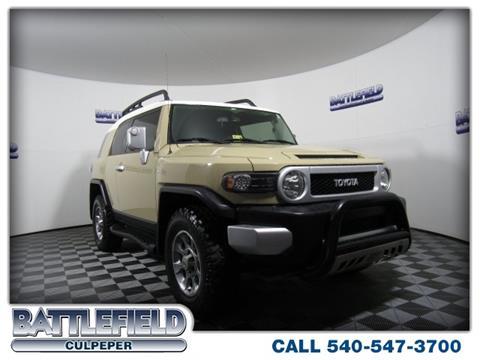 2011 Toyota FJ Cruiser for sale in Culpeper VA