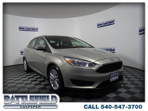2015 Ford Focus for sale in Culpeper VA