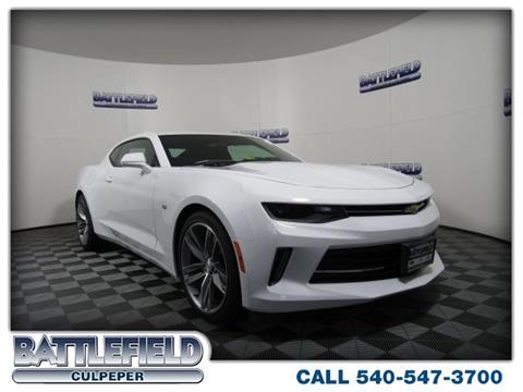 2017 Chevrolet Camaro for sale in Culpeper, VA
