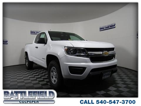 2018 Chevrolet Colorado for sale in Culpeper VA