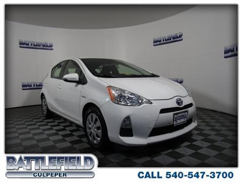 2013 Toyota Prius c for sale in Culpeper, VA
