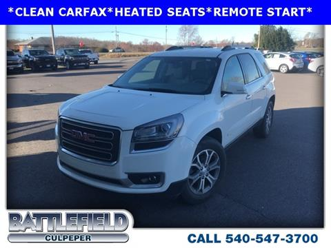 2014 GMC Acadia for sale in Culpeper, VA