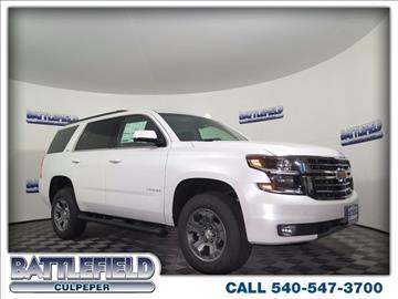 2016 Chevrolet Tahoe for sale in Culpeper, VA