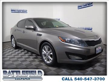 2013 Kia Optima for sale in Culpeper, VA