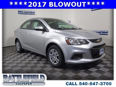 2017 Chevrolet Sonic for sale in Culpeper, VA