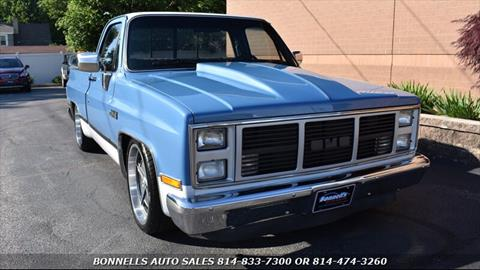 1985 GMC C/K 1500 Series for sale in Erie, PA