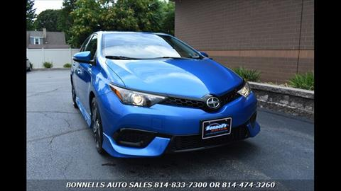 2016 Scion iM for sale in Erie, PA