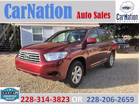 2010 Toyota Highlander for sale in Long Beach, MS